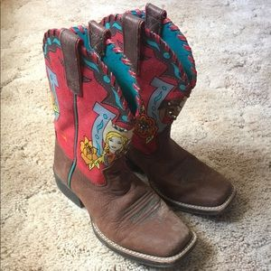 Adorable girls size 2 boots